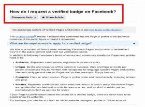 facebook blue badge request