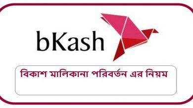 bkash ownership change