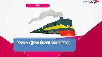 Bkash Train Ticket